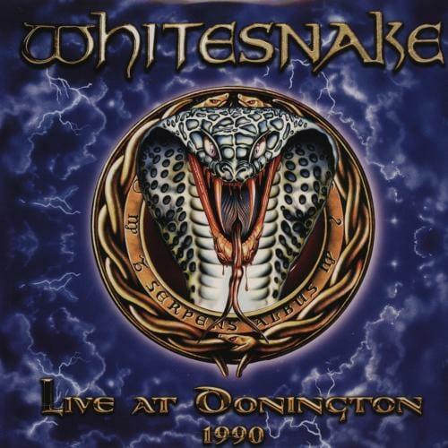 """Das Cover von """"Live At Donnington 1990"""" von Whitesnake"""