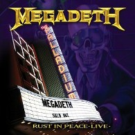 Megadeth - Rust In Peace Live (DVD) - Cover