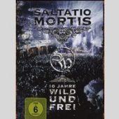Saltatio Mortis - 10 Jahre - Wild und Frei (DVD) - CD-Cover
