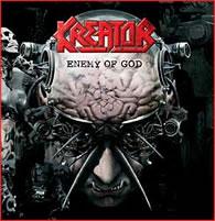 Kreator - Enemy Of God - Cover