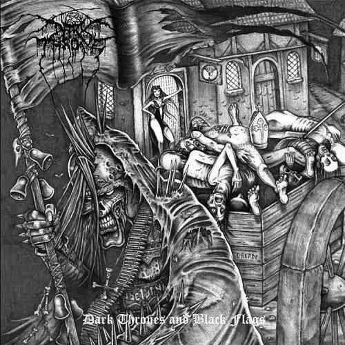 Cover - Darkthrone – Dark Thrones And Black Flags