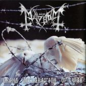 Mayhem - Grand Declaration Of War - CD-Cover