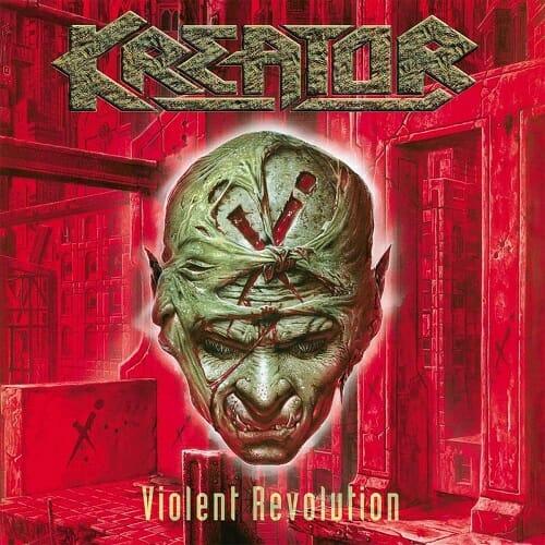 Kreator - Violent Revolution - Cover