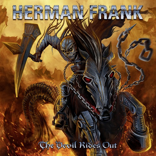 Herman Frank - The Devil Rides Out - Cover