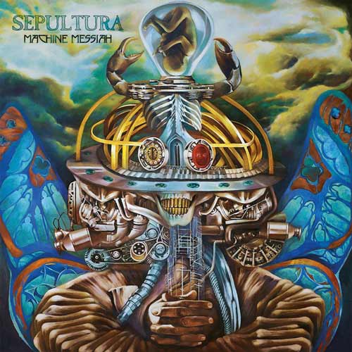 Sepultura - Machine Messiah - Cover