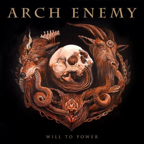 Arch Enemy - Will To Power - Cover