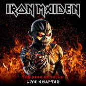 Iron Maiden - The Book Of Souls: Live Chapter - CD-Cover