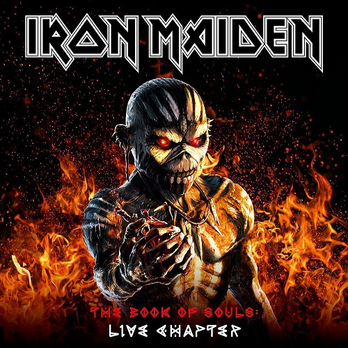 Iron Maiden - The Book Of Souls: Live Chapter - Cover