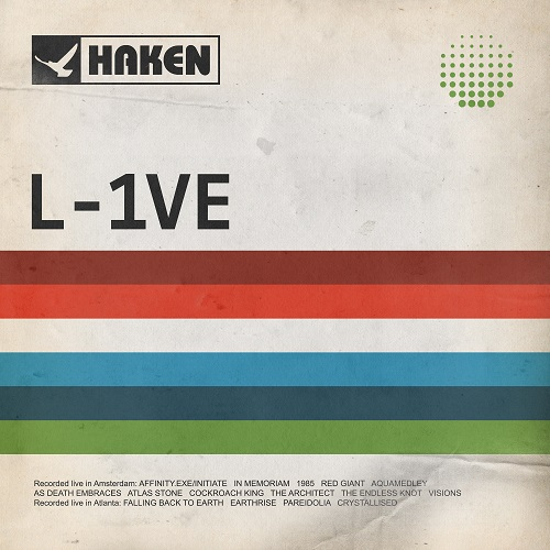 Haken - L-1VE - Cover