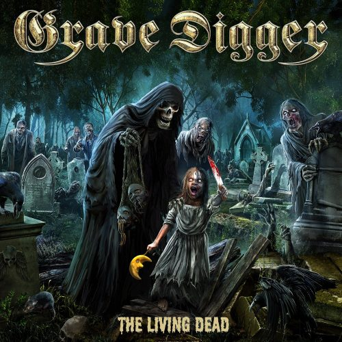 Grave Digger - The Living Dead - Cover