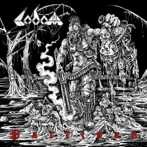 """Das Cover von """"Partisan"""" von Sodom"""