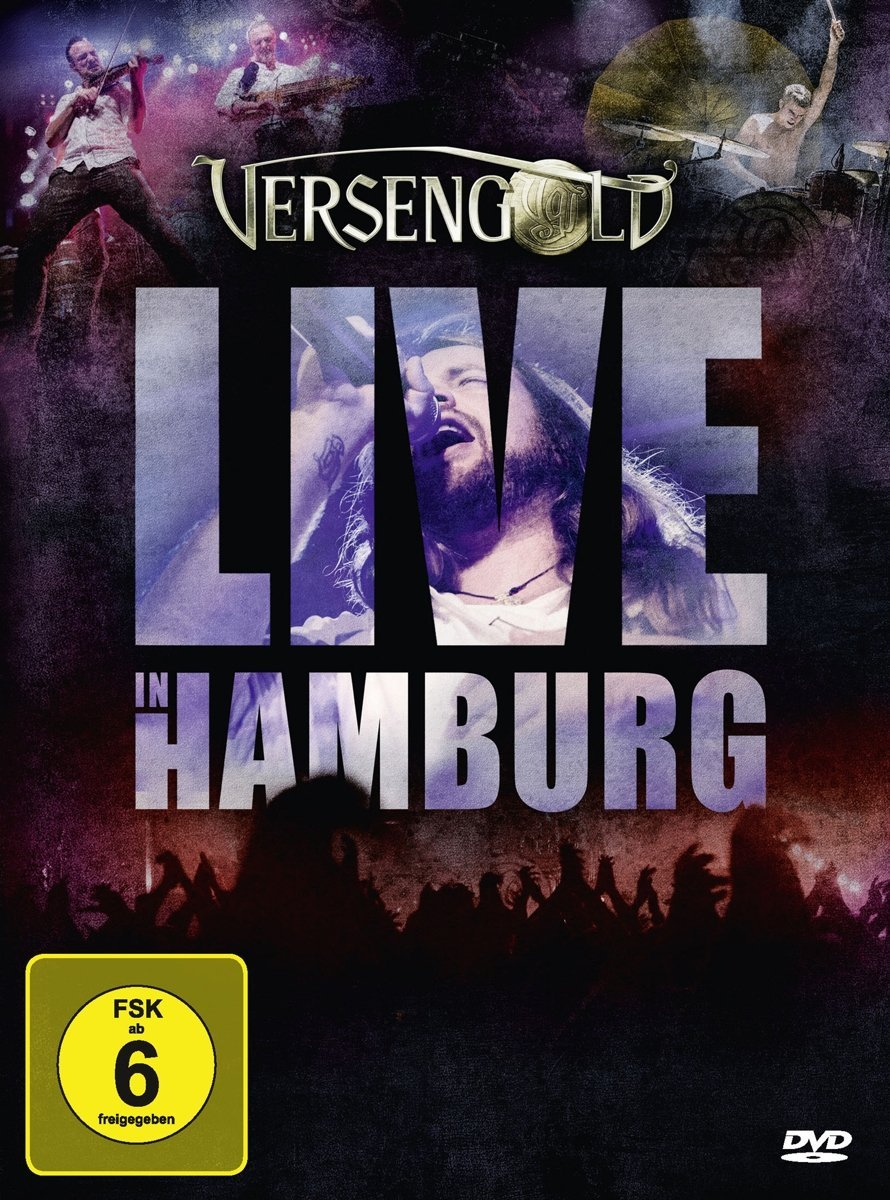Versengold - Live in Hamburg - Cover
