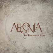 Aegonia - The Forgotten Song - CD-Cover