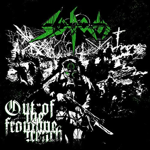 """Das Cover der Sodom-EP """"Out Of The Frontline Trench"""""""