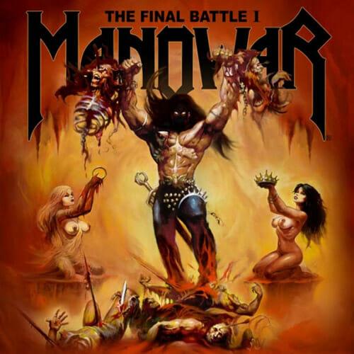 "Das Cover der Manowar-EP ""The Final Battle I"""