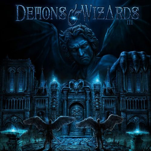 """Das Cover von """"III"""" von Demons & Wizards"""