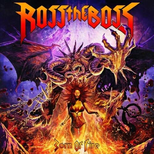 """Das Cover von """"Born Of Fire"""" von Ross The Boss"""