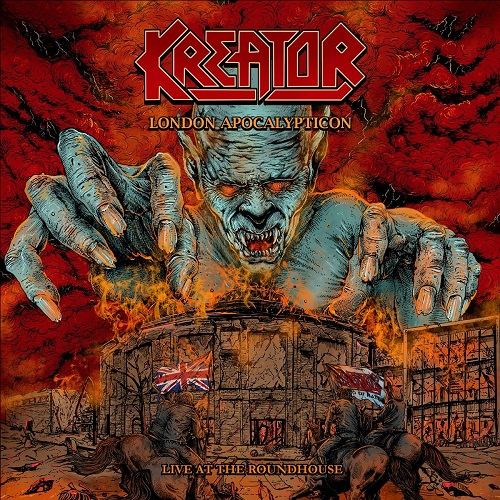 Kreator - London Apocalypticon – Live At The Roundhouse (Blu-ray/CD) - Cover