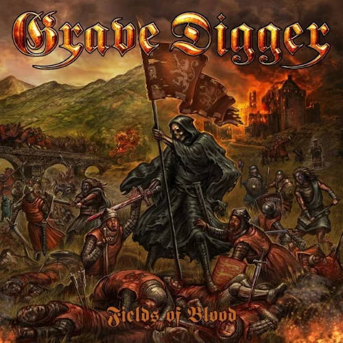 """Das Cover von """"Fields Of Blood"""" von Grave Digger"""