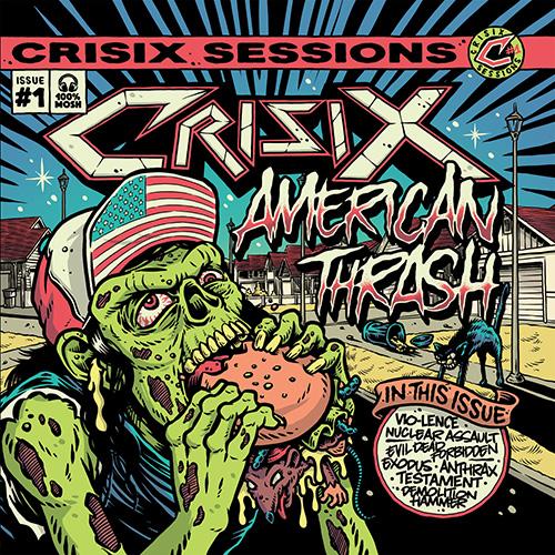 Crisix - Sessions: #1 American Thrash - Cover