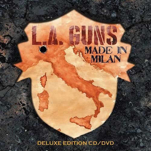 Cover - L.A. Guns – Made In Milan (CD+DVD)