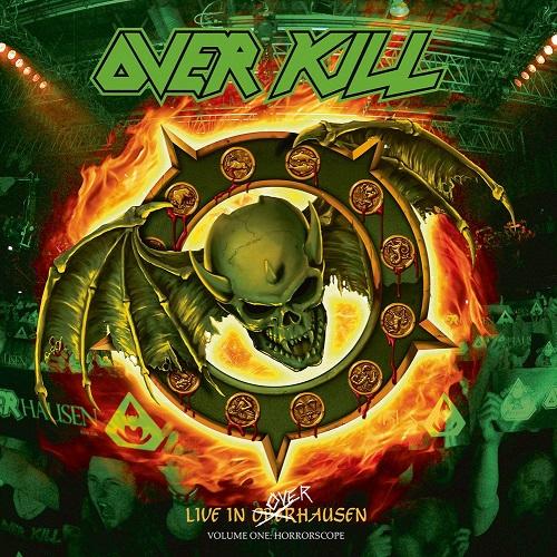 Overkill - Live In Overhausen (2CD+Bluray) - Cover