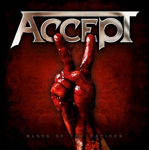 """Das Cover von """"Blood Of The Nations"""" von Accept"""