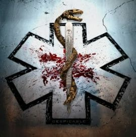 "Das Cover von ""Despicable"" von Carcass"