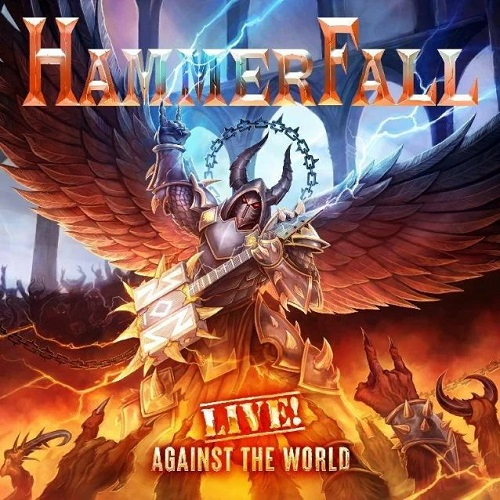 """Das Cover von """"Live! Against The World"""" von Hammerfall"""