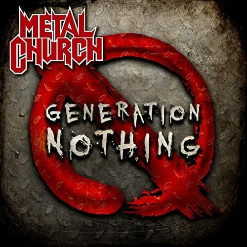 """Das Cover von """"Generation Nothing"""" von Metal Church"""