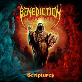 """Das Cover von """"Scriptures"""" von Benediction"""