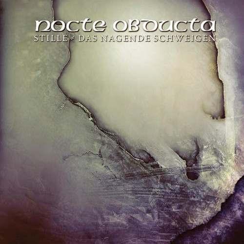 Cover - Nocte Obducta – Stille – Das nagende Schweigen (EP)