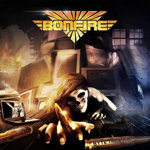 """Das Cover von """"Byte The Bullet"""" von Bonfire"""