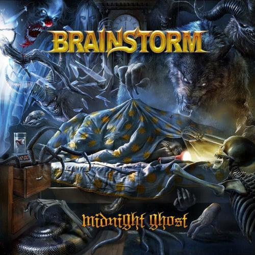 """Das Cover von """"Midnight Ghost"""" von Brainstorm"""