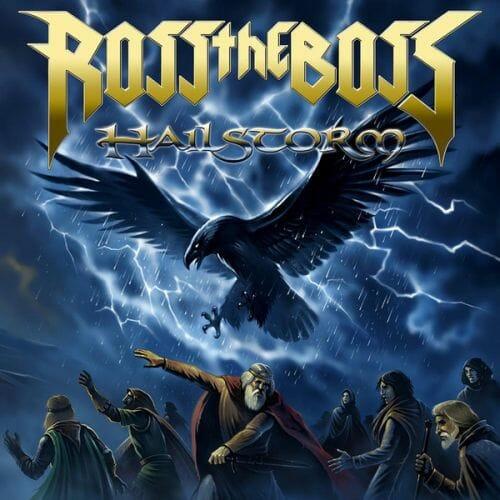 """Das Cover von """"Hailstorm"""" von Ross The Boss"""