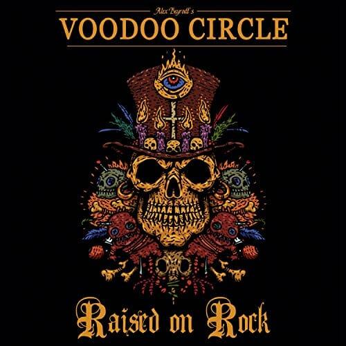 """Das Cover von """"Raised On Rock"""" von Voodoo Circle"""