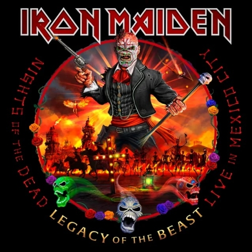 Cover - Iron Maiden – Nights Of The Dead, Legacy Of The Beast: Live In Mexico City