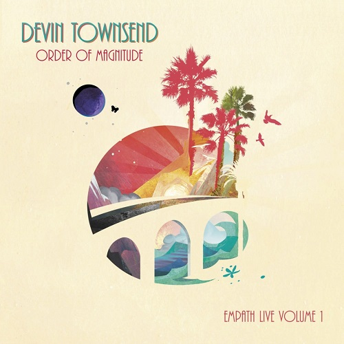 Devin Townsend - Order Of Magnitude - Empath Live Volume 1 - Cover