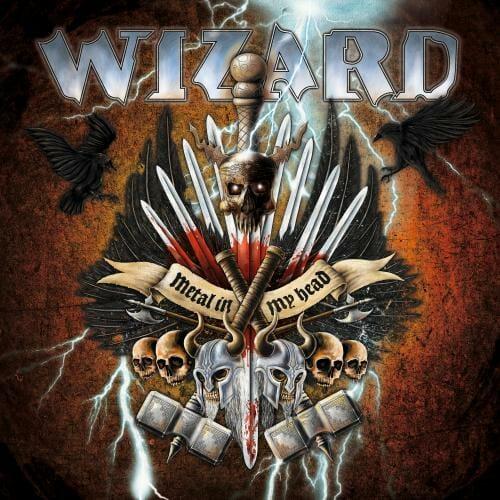 """Das Cover von """"Metal In My Head"""" von Wizard"""