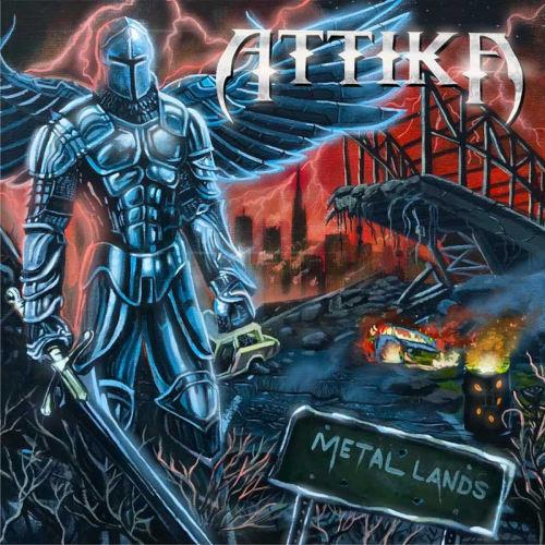 """Das Cover von """"Metal Lands"""" von Attika"""