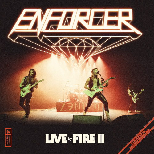 Cover - Enforcer – Live By Fire II