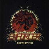 Enforcer - Death By Fire - CD-Cover