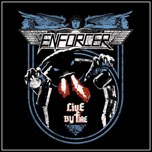 Cover - Enforcer – Live By Fire (CD/DVD)