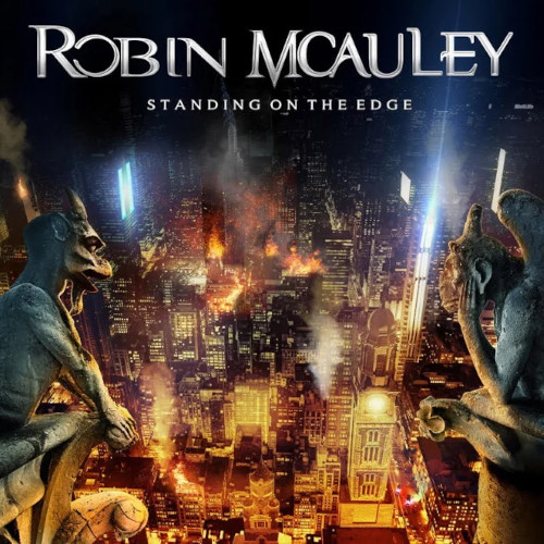 Robin McAuley - Standing On The Edge - Cover
