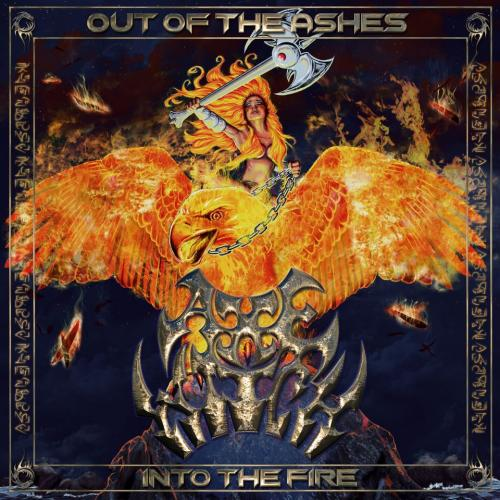 Cover - Axewitch – Out Of The Ashes Into The Fire