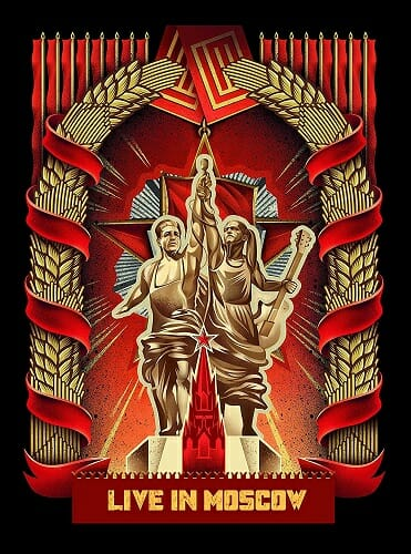 Lindemann - Live in Moscow Blu-ray CD DVD Rammstein