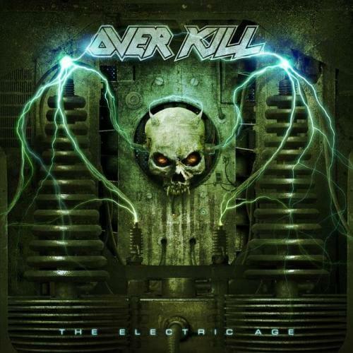 "Das Cover von ""The Electric Age"" von Overkill"