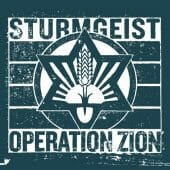Sturmgeist - Operation Zion - CD-Cover