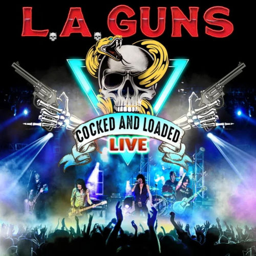 Cover - L.A. Guns – Cocked And Loaded Live