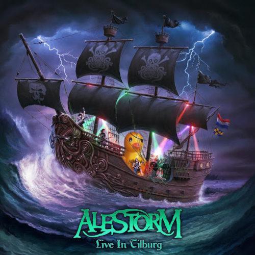 Alestorm - Live In Tilburg (CD+Bluray) - Cover